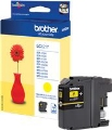 Tusz Brother  LC121Y  Yellow  DCP-J132W; DCP-J152W; DCP-J552DW; MFC-J470DW