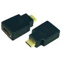 Adapter HDMI żeński A na  Mini HDMI C męski  LogiLink