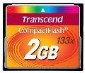 - karta pamieci Compact Flash   2GB Transcend High Speed 133x